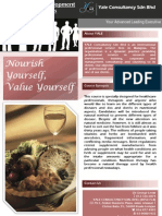 Nourish Yourself, Value Yourself
