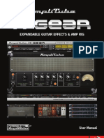 AmpliTube X GEAR 1.4 User Manual