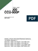 ccu900MANUAL