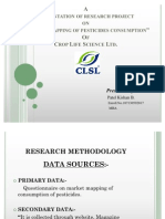 Crop Life Science ltd. research report presentation