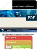 Presentation - Human Resources Management System