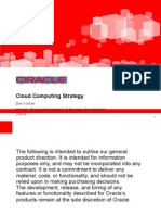 OracleCloudComutingStrategy