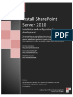 Share Point Server 2010 Installation and Configuration