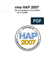 HAP lite Final French Hap Standard 2007transl2009