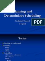 Planning & Scheduling