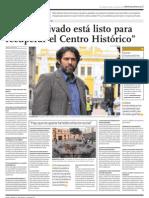 El Comercio Recuperación del Centro Histórico de Lima