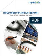 Rollover Statistics(From July 2011 Series to September 2011 Series)
