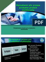 Memahami Alir Proses Produksi Produk Multimedia 1