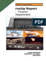 Awais Internship Report