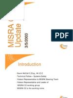 MISRA C v2 Update