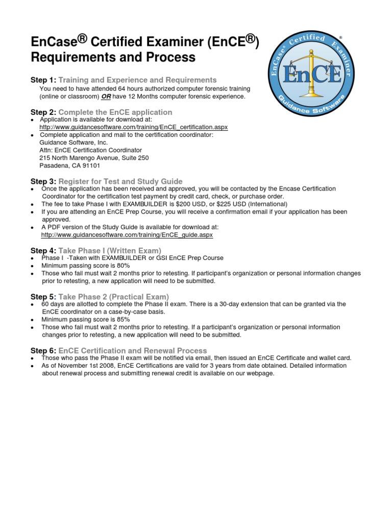 Enceform2010 Zip Code Computer Forensics