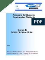 Curso de Toxicologia Geral