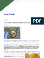 Market Manila - Lasang Pinoy 7 – Ensaimada Part II (The Recipe!) - General