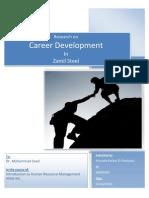 Career Development in Zamil Steel