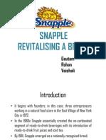 Snapple Case Study