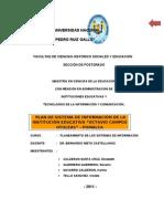 Plan Estrategico de Sistema de Informacion-revisado