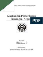 Makalah Lingkungan Pemeriksaan Keuangan Negara