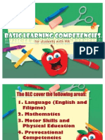 Basic Learning Competencies