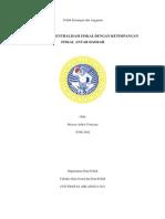 Hubungan Desentralisasi Fiskal dengan Ketimpangan Fiskal Antar Daerah