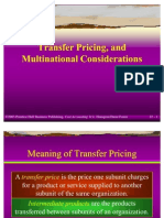 Transfer Pricing Rectified