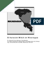 huracanes  que afectan a nicaragua