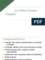 New Venture Creation Final