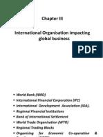International ion Impacting Global Business