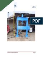 Fabricacion de Prensa Hidraulica de 150tn