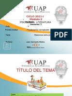 PSICOLOGIA Y LITERATURA 2