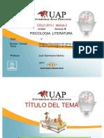 PSICOLOGIA Y LITERATURA 8