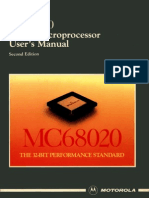 MC68020 32-Bit Microprocessor User's Manual