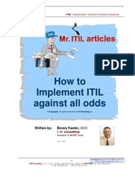 How to Implement ITIL Against all Odds ...