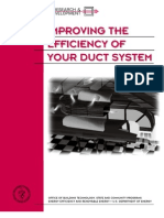 Improving The Efficency Of Your Duct System