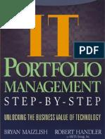 IT Portfolio Management - Unlocking the Business Value of Technology