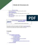 Cálculo de Estructuras de Acero