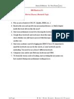 Research Seminar Manual - Dr Nada Basset