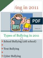 Bullying in 2011