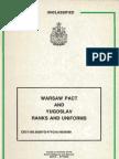 (1990) Warsaw Pact Uniforms
