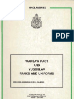 (1990) Warsaw Pact Uniforms