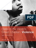 State of the Worlds Street Children-Violence