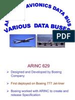 Arinc 629 avionics databus