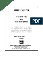 Bhel Welding Guidelines