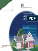 Adjustable Rate Mortgage Brochure