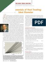 Fundamentals of Heat Treating Ideal Diameter
