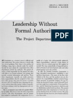 Leadership Without Formal Authority