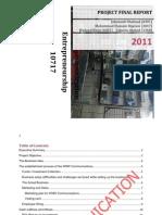 Final Report of Entre