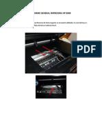 Informe General Impresora Hp 8500