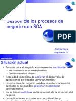 Gestión de los procesos de negocio en SOA BPM