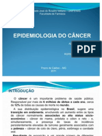 Epidemiologia do Câncer PowerPoint
