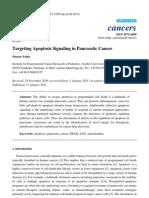 Targeting Apoptosis Signaling in Pancreatic Cancer, 2011